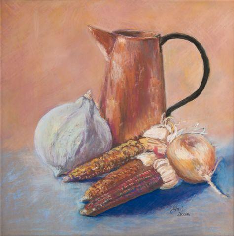 Copper with Corn